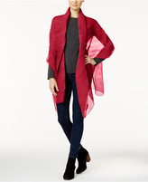 Steve Madden Petite Pleats Solid Day Wrap
