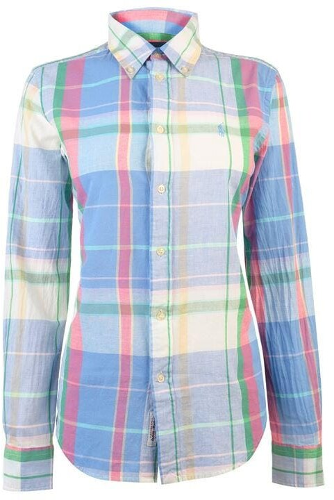 Polo Ralph Lauren Polo Georgia Chalk Long Sleeve Men'S Shirt