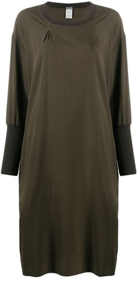 Kristensen Du Nord Loose Fit Dress With Fitted Cuffs