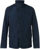 Fay button-front raincoat