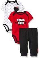 Calvin Klein Baby-Boys Bodysuit and Pants