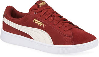 Puma Classic Low-Top Suede Basket Sneakers