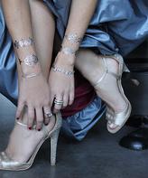 Flash Tattoos Swarovski® Crystal Valentina Temporary Tattoo Set