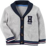 "Carter's Baby Boy Hunk"" Knit Cardigan"
