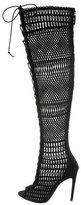 Giambattista Valli Embroidered Over-The-Knee Boots