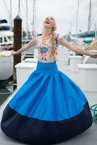 Shabby Apple Matilda colorblocked blue/navy