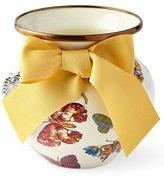 Mackenzie Childs MacKenzie-Childs White Butterfly Garden Vase