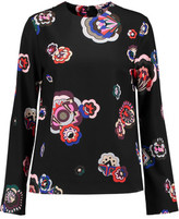 MSGM Printed Crepe Top