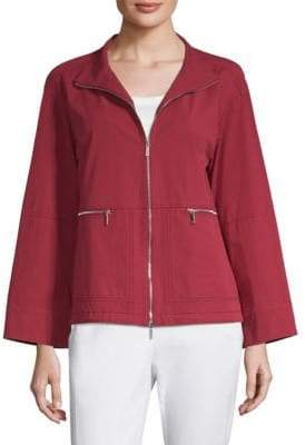 Lafayette 148 New York Kellen Short Cotton Jacket