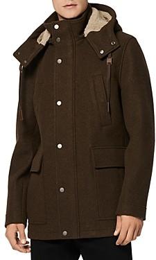 Andrew Marc Hooded Duffel Coat