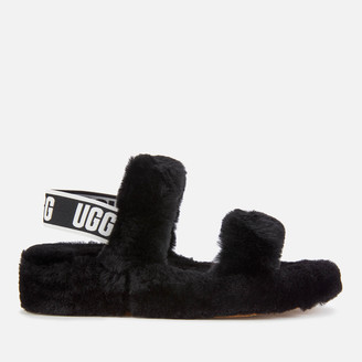 UGG Women's Oh Yeah Slippers - Black