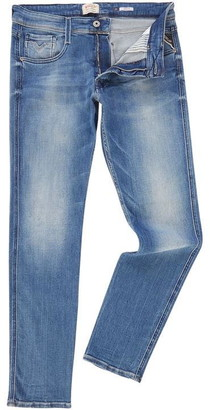 Replay Anbass Power Stretch Slim Fit Jeans