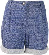Chanel Pre Owned two tone shorts