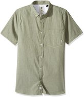 Element Men's Greene Oxford Flex Short Sleeve Woven Shirt