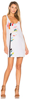 Mara Hoffman Embroidered Mini Dress in White. - size M (also in )