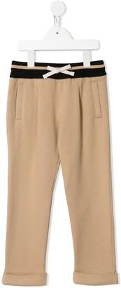 Dolce & Gabbana Kids DG Love cotton track pants