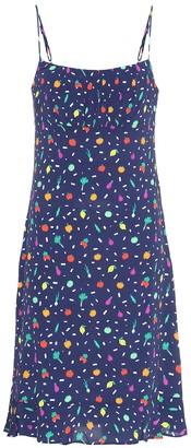 STAUD Bellini printed minidress