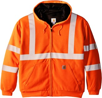 Carhartt Men's Big & Tall High Visibility Class 3 Thermal Sweatshirt