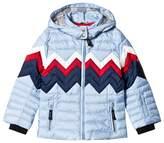 Bogner Pale Blue Stella Down Ski Jacket