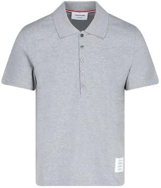 Thom Browne Logo Patch Polo Shirt