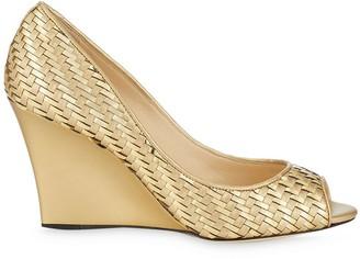 Jimmy Choo Baxan woven wedge sandals