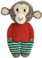 Anne Claire Hand-Crocheted Organic Cotton Monkey