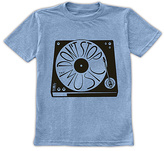 Urban Smalls Heather Blue 'Don't Stop The Music' Tee - Toddler & Boys