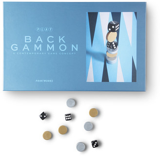 PRINTWORKS PLAY Backgammon Set