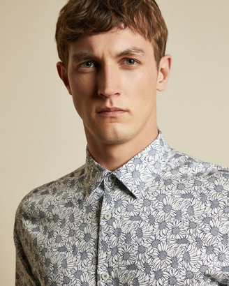 Ted Baker CHARITY Floral print cotton shirt