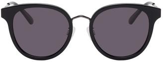 McQ Black Round Iconic Sunglasses