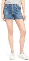 Citizens of Humanity Women's Alyx High Waist Cutoff Denim Shorts
