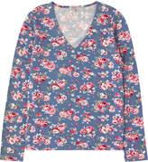 Cath Kidston Wells Rose Viscose V-Neck T-Shirt