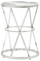 Inspire Q Hennig Contemporary Accent Table Chrome