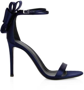 Giuseppe Zanotti Bow Silk Sandals