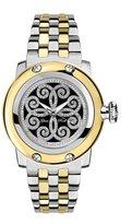 Glam Rock Women's Palm Beach 40mm Two Tone Steel Bracelet Quartz Watch Gr40411