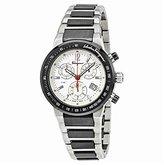 Salvatore Ferragamo Men's F54MCQ78901 S789 F-80 Chronograph Tachymeter Titanium Watch