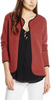 Only Women's 153200 Long Sleeve Cardigan - red - UK
