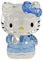 Swarovski Hello Kitty Blue Bow Figurine