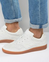 New Balance Suede Soccer Trainers In White Ct288wg