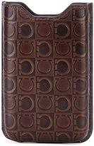 Salvatore Ferragamo phone case - men - Leather - One Size