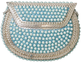 FROM ST XAVIER FSX202W012 Pearl Flap Over Clutch