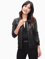 Splendid Sequin Varsity Jacket