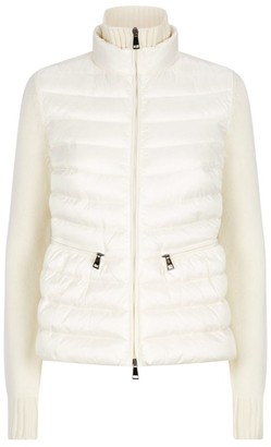 Moncler Padded Down Cardigan