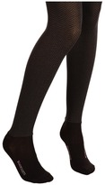 Bootights Opaque Sophisticated Herringbone Tight/Ankle Sock Hose