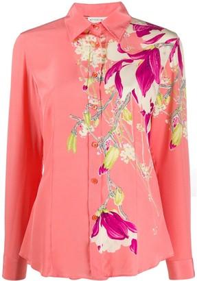 Etro Silk Floral Print Shirt