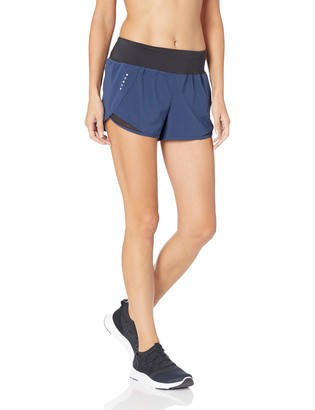 "Core 10 Amazon Brand Women's (XS-3X) Knit Waistband Run Short Brief Liner - 2.5"""