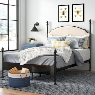 Laurel Foundry Modern Farmhouse Granite Range Low Profile Canopy Bed Size: Full
