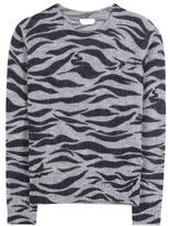 See by Chloe Zebra-printed Sweater