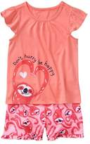 Gymboree Sloth 2-Piece Shortie Pajamas