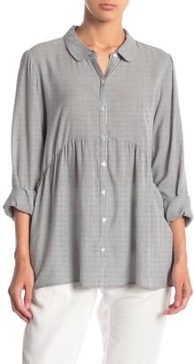 Nanette Nanette Lepore Long Sleeve Oversized Striped Blouse